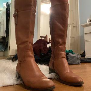 Franco Sarto Chestnut Boots